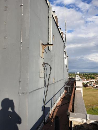 Antenna, Mast and Feeder